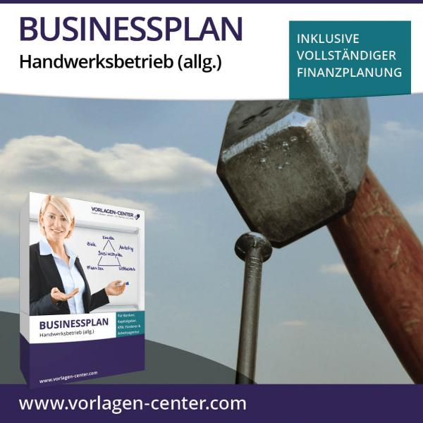 Businessplan-Paket Handwerksbetrieb (allg.)