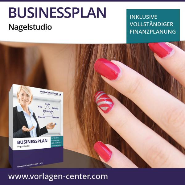 Businessplan-Paket Nagelstudio