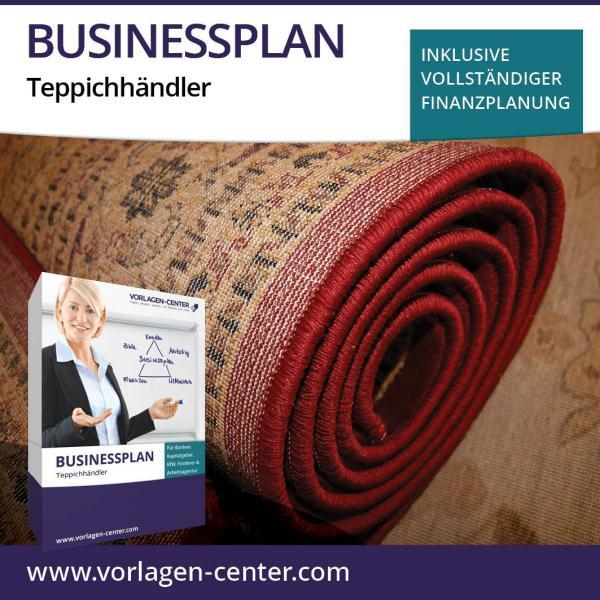 Businessplan-Paket Teppichhändler