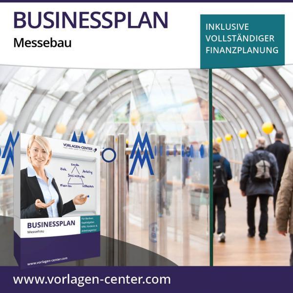 Businessplan-Paket Messebau