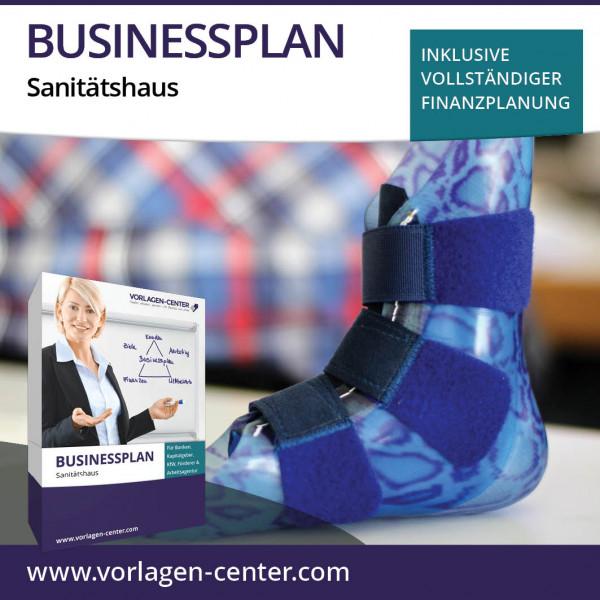Businessplan-Paket Sanitätshaus