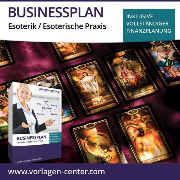 Businessplan-Paket Esoterik / Esoterische Praxis