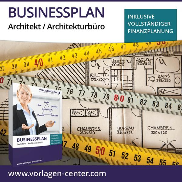 Businessplan Architekt / Architekturbüro