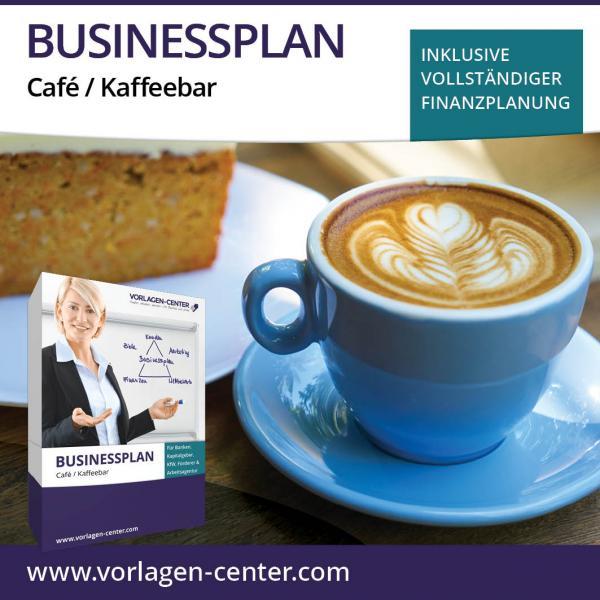 Businessplan-Paket Café / Kaffeebar