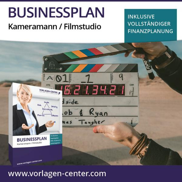 Businessplan Kameramann / Filmstudio