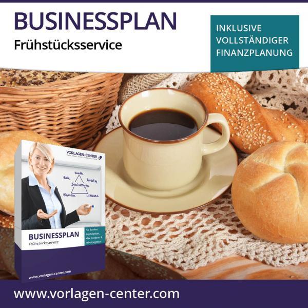 Businessplan-Paket Frühstücksservice