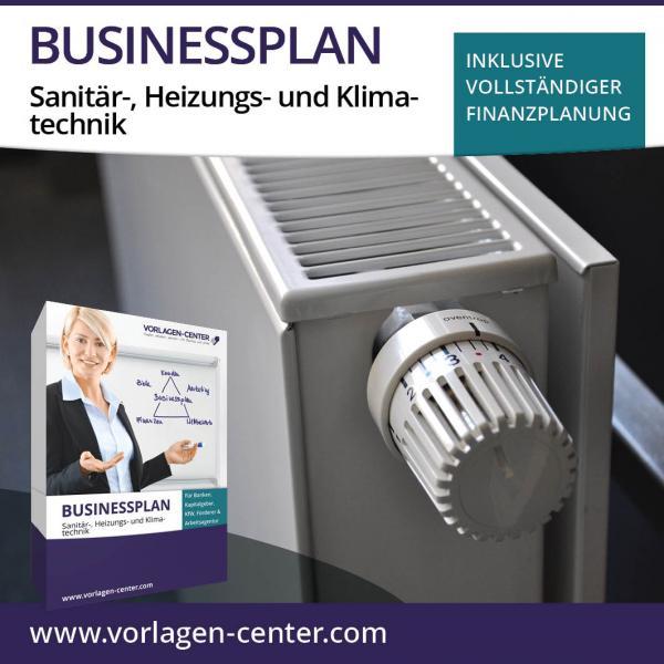 Businessplan-Paket Sanitär-, Heizungs- und Klimatechnik