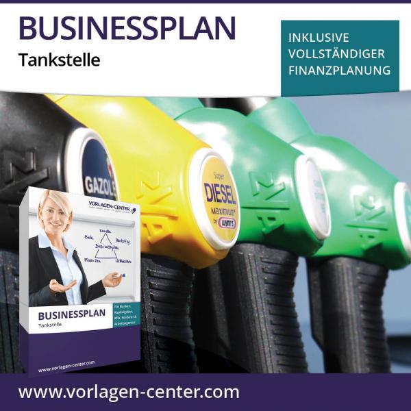 Businessplan-Paket Tankstelle