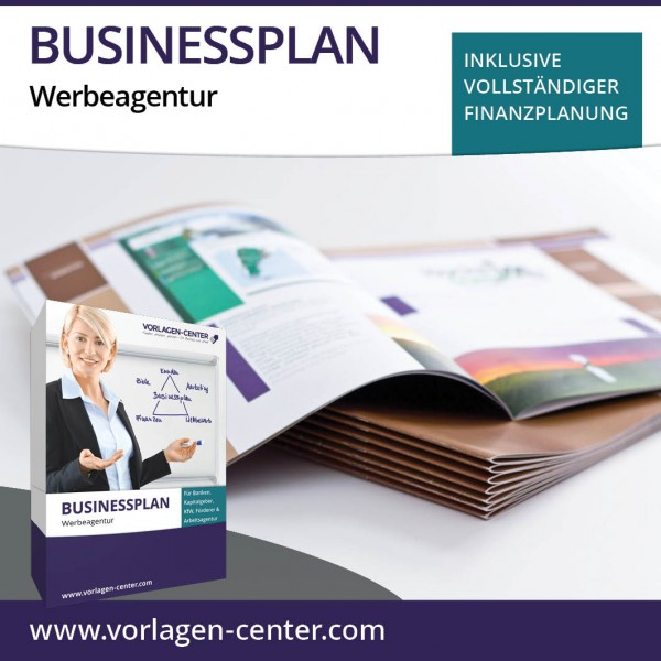 Businessplan-Paket Werbeagentur