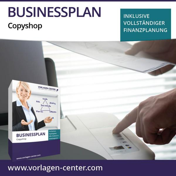 Businessplan-Paket Copyshop