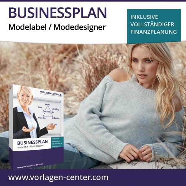 Businessplan Modelabel / Modedesigner