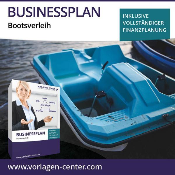 Businessplan-Paket Bootsverleih