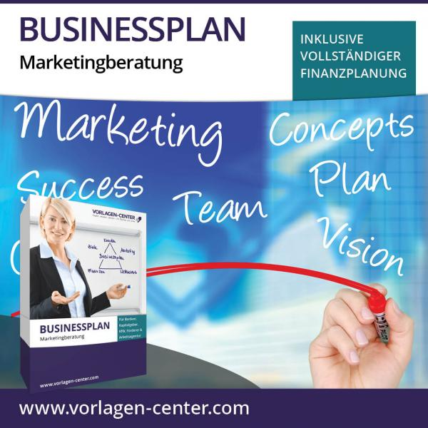 Businessplan-Paket Marketingberatung