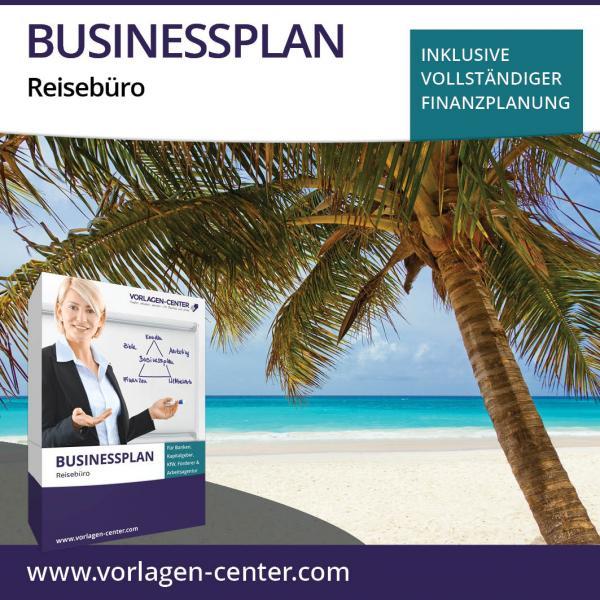 Businessplan-Paket Reisebüro