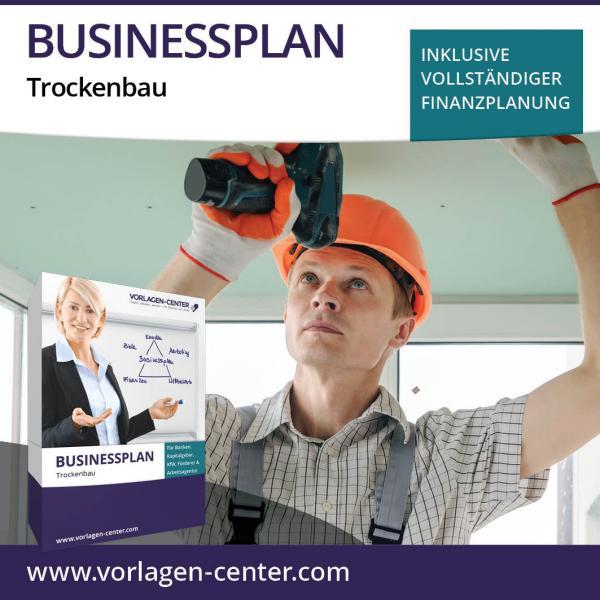 Businessplan-Paket Trockenbau
