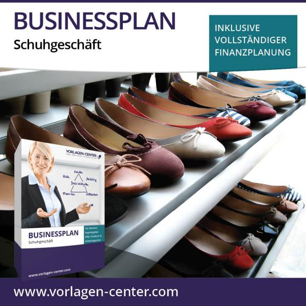 Businessplan-Paket Schuhgeschäft