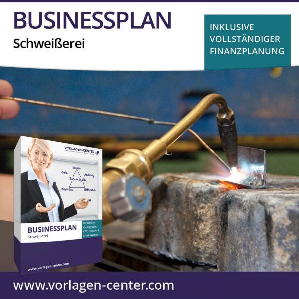 Businessplan-Paket Schweißerei
