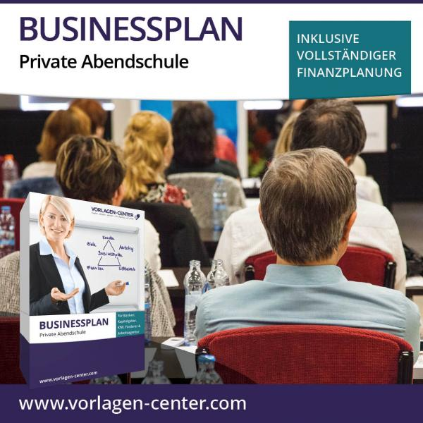 Businessplan-Paket Private Abendschule