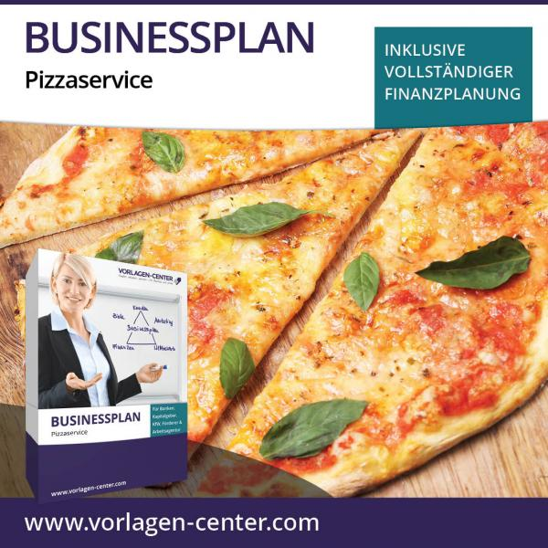 Businessplan-Paket Pizzaservice