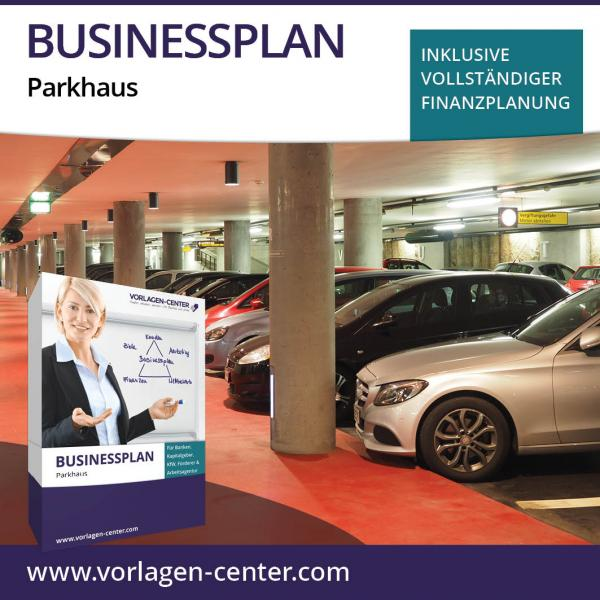 Businessplan-Paket Parkhaus