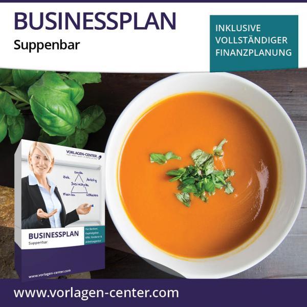 Businessplan-Paket Suppenbar