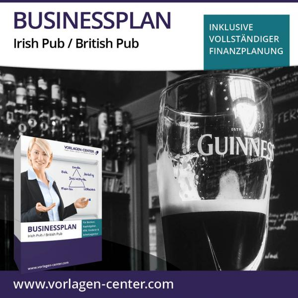 Businessplan-Paket Irish Pub / British Pub