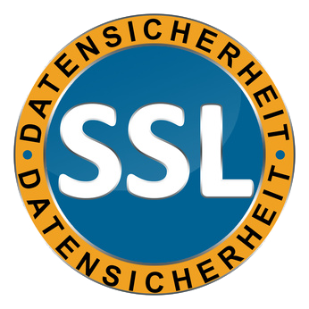 100% SSL-Datensicherheit